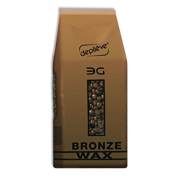 Depileve Bronze vaškas granulėse